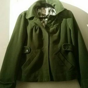 Tulle green jacket size large